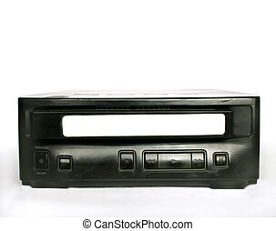 Video Cassette Player - VHS player with Blank Tape