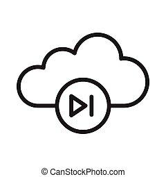 video, chmura