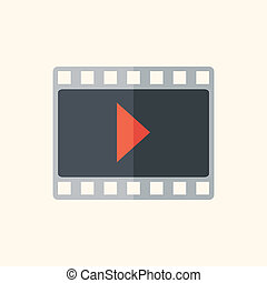 Video Flat Icon