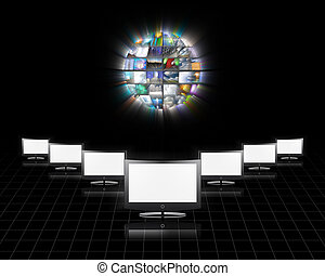 Video - Flat panels video