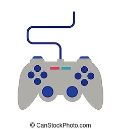 video game control flat style icon
