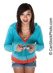 Video Game Girl