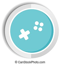 video game icon button