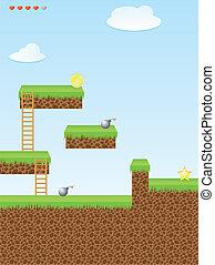 Video game location, arcade games - Arcade game world,...