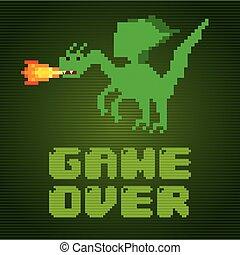 video game pixel design