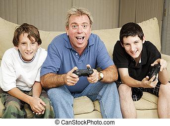 video, gamers, -, overrask