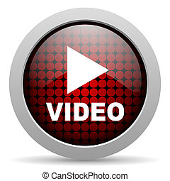 video glossy icon