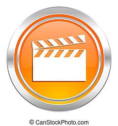video icon, cinema sign