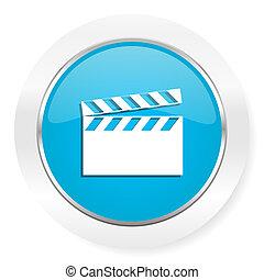 video icon cinema sign