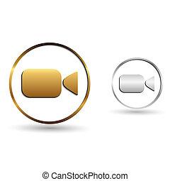 video, ikona