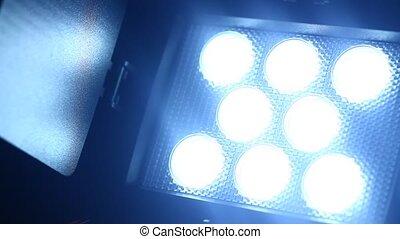 Video Light close-up