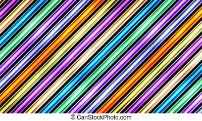 video loop moving colorful seamless strips