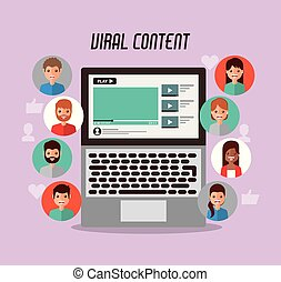 video marketing viral content people views