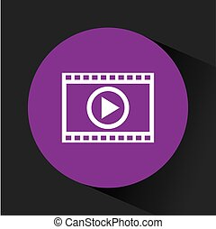 video media player icon