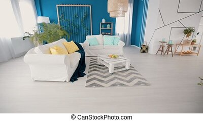 Video of a living room - Video of a bright spacious cozy...