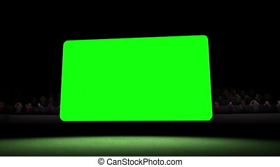 Video of chroma key