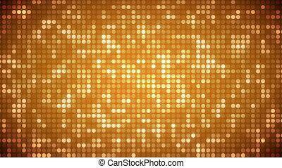 Video of gold dots - Animation of gold dots