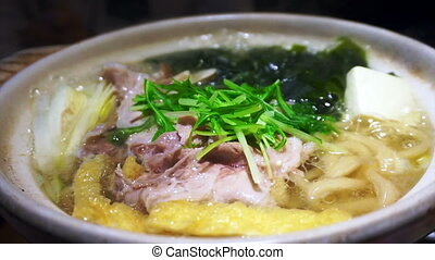 Meat hot pot, japanese food - Video of Meat hot pot,...