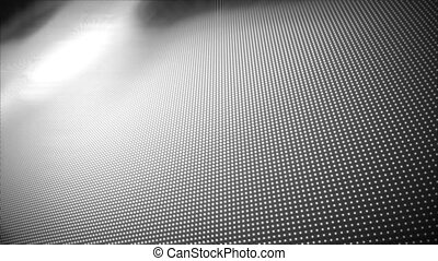 Video of multiple grey dots - Animation of multiple grey...
