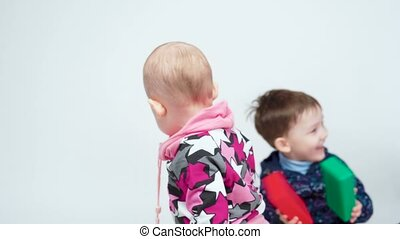 Video of playing brother and sister - Video of brother and ...