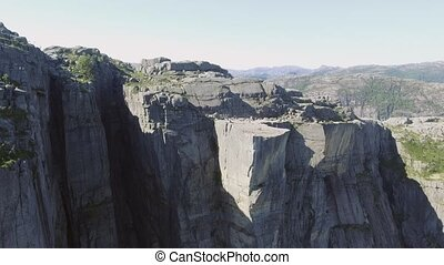 Video of Preikestolen, Pulpit Rock at Lysefjord in Norway....