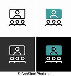video, online spotkanie, konferencja