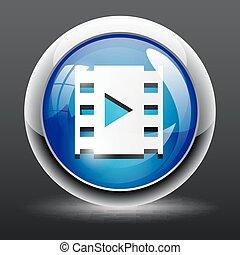 video play icon button