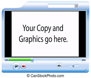 Video Player Background - Background for your copy and...