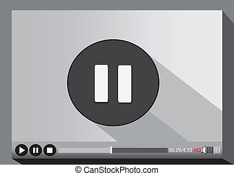 Video player media for web