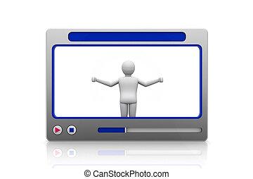 video presentation concept