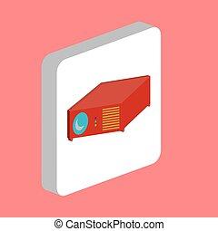 Video Projector computer symbol - Video Projector Simple...