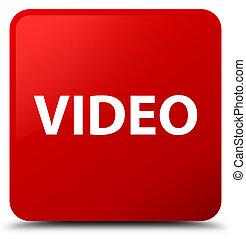 Video red square button