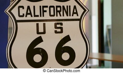 Route 66 US California highway