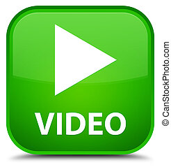 Video special green square button