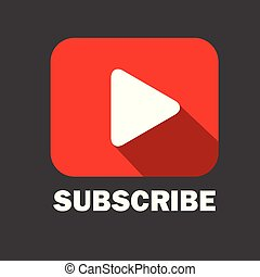 Video Subscribe Vector Banner