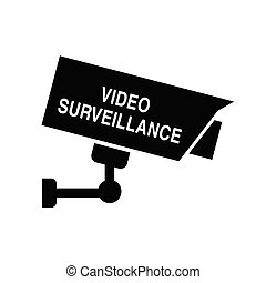 video surveillance icon security illustration