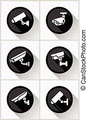 Video surveillance set