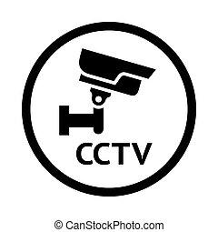 video surveillance symbol,