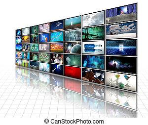 video, textanzeige