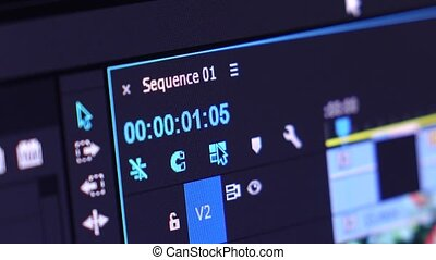 Video Timeline Frame and TImer - Video Editing Software...