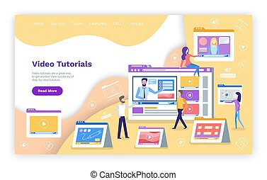 Video Tutoring Online Course with Tutor Explaining - Video...