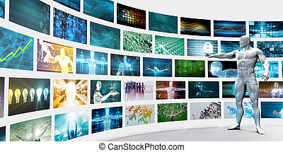 Video Wall Background