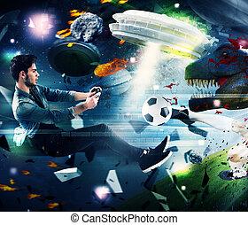 videogames, világ