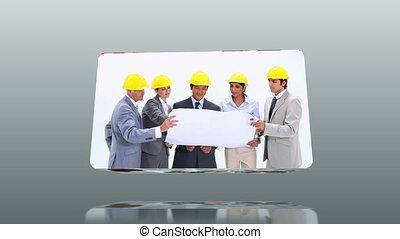 Videos of business teams