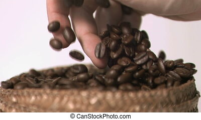 Videos of coffee in super slow