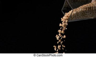 Videos of popcorn popping