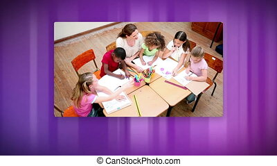 Videos of school life