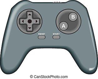 videospel, konsol