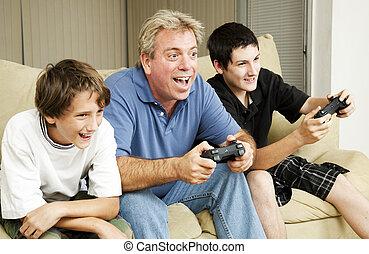videospiel, aufregung