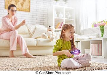 videospiele, spielende , kind